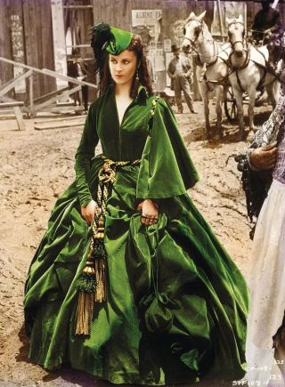 Scarlett O'Hara Green Dress