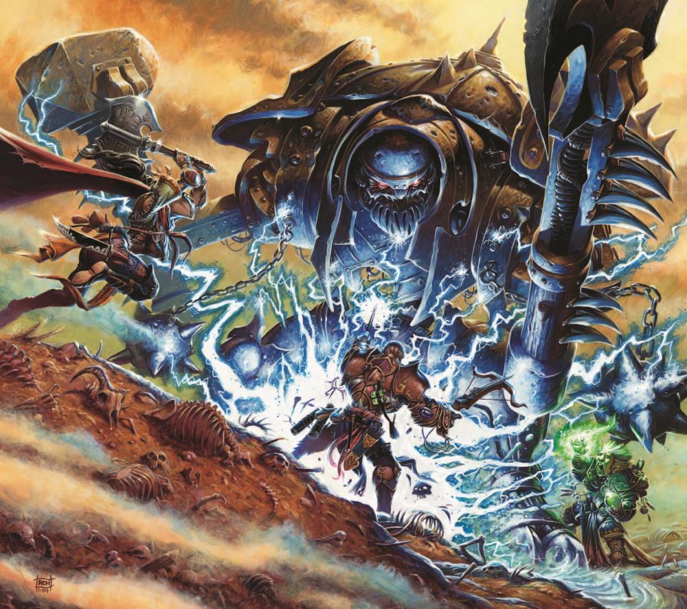 Giant warforged
