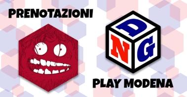 Prenota il tavolo a Modena Play!